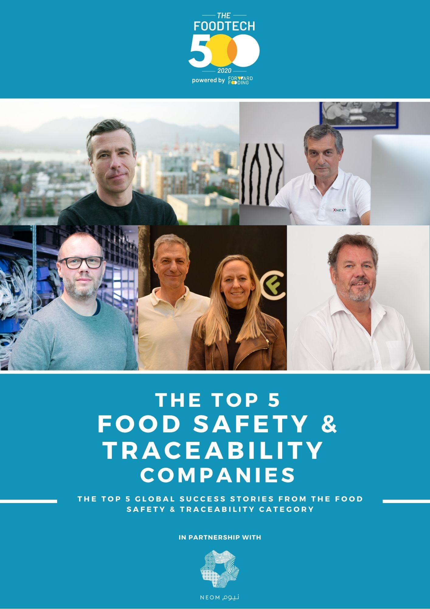 2020 Top5 Food Safety & Traceability FT500